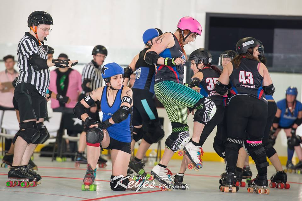 2016 Home Opener Brandywine Roller Derby vs. Ithaca League of Women Rollers